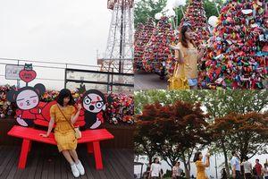 'Đốn tim' khi đặt chân đến điểm hẹn tình yêu tháp Namsan ở Hàn Quốc