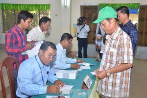 Ủy Ban bầu cử Quốc gia Campuchia kết thúc quá trình xác minh kết quả bầu cử Quốc hội