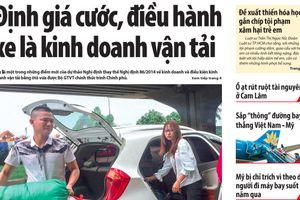 Tin mới nhất, hay nhất trên Báo Giao thông ngày 7/8/2018
