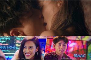 Phim 'Mùa viết tình ca' gây xôn xao với cảnh nóng táo bạo của Isaac và Phan Ngân The Face