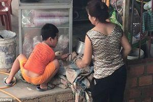 Cậu bé Việt cương quyết cứu vịt khỏi bị giết thịt lên báo nước ngoài