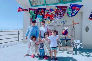 Những gia đình đông đúc con cái được ngưỡng mộ của showbiz Việt