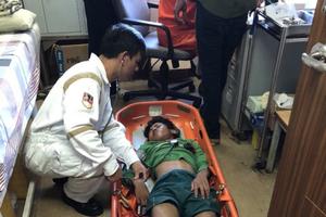 Vietsovpetro hỗ trợ cấp cứu trên biển và đưa 1 ngư dân về bờ