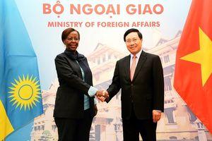 Thúc đẩy hơn nữa hợp tác Việt Nam-Rwanda đi vào hiệu quả