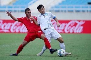 U23 Uzbekistan sử dụng 'đội hình B' ở giải tứ hùng trên sân Mỹ Đình