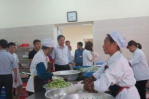 39 bếp ăn bệnh viện tại Hà Nội được kiểm tra, phát hiện nhiều vi phạm