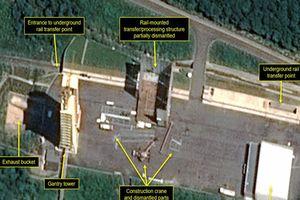 Triều Tiên tiếp tục tháo dỡ bãi thử động cơ tên lửa Sohae