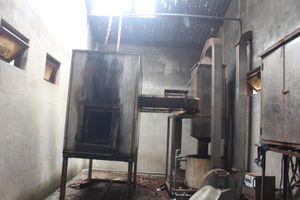 Hơn 7 năm bỏ hoang hệ thống xử lý nước thải và lò đốt rác của bệnh viện
