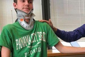 Mỹ: Vụ tai nạn hy hữu khiến người đàn ông 'đứt đầu từ bên trong'