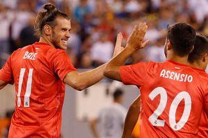 Gareth Bale kiến tạo và ghi bàn giúp Real đánh bại Roma