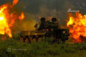 Kinh hoàng sức mạnh pháo tự hành PLL09 khi khai hỏa