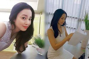 Kim Tae Hee đẹp không tì vết sau gần 1 năm sinh con
