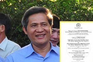 Cựu Chủ tịch Đắk Lắk nói gì về tin đồn làm sếp cho Trung Nguyên?