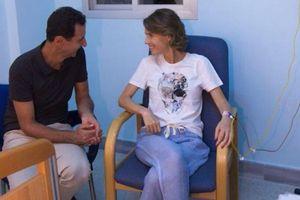 Phu nhân Tổng thống Syria Bashar al-Assad nhập viện vì ung thư