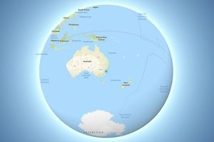 Google Maps cập nhật để hiển thị Trái Đất hình cầu