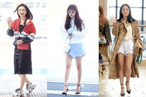 10 sao Hàn cứ diện đồ ra sân bay là tín đồ thời trang lại đổ 'rầm rầm' vì quá đẹp và chất