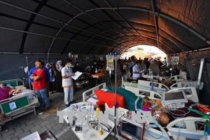 Động đất tại Indonesia: Số thương vong lên tới hơn 360 người