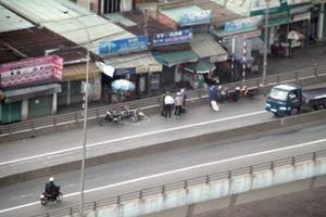 Xe máy bị cấm chạy trên cầu vượt ngã tư Vũng Tàu