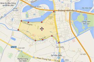 Hà Nội sắp có đường nối từ cầu Hòa Bình đến KĐT mới Nam Hồ Linh Đàm