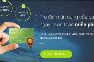 Lần đầu tiên tại Việt Nam xuất hiện ứng dụng tính điểm tín dụng cá nhân độc lập và trực tuyến
