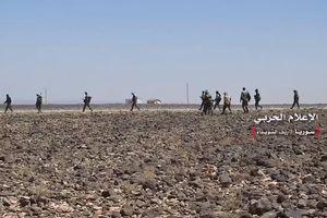 Quân tinh nhuệ Syria tấn công siết vòng vây IS trên sa mạc Sweida