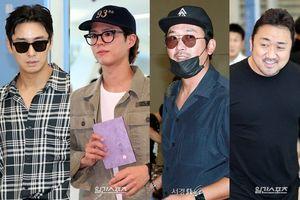 Xuất hiện cùng dàn sao 'Thử thách thần chết 2' tại sân bay, Park Bo Gum khiến fan gào thét trước ngoại hình 'già trước tuổi'
