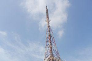 Khắc phục sạt lở taluy tháp ăng ten đài PT-TH tỉnh Thái Nguyên