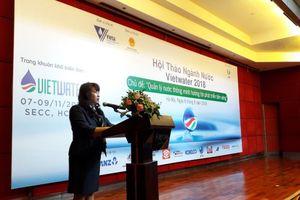 Quản lý nước thông minh hướng tới phát triển bền vững