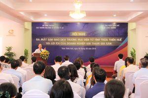 Thừa Thiên Huế ra mắt Sàn giao dịch thương mại điện tử