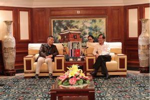 Đoàn đại biểu Liên đoàn Báo chí Thái Lan thăm và làm việc với Hội Nhà báo Việt Nam