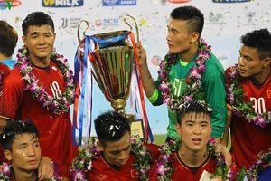 Toàn cảnh Olympic Việt Nam 1-1 Uzbekistan: Chức vô địch đầu tay