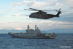 Tàu sân bay hạng nhẹ Cavour 'nhỏ nhưng có võ' của Italy