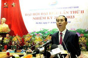 Chủ tịch nước dự ĐH đại biểu Hiệp hội doanh nhân cựu chiến binh lần 2