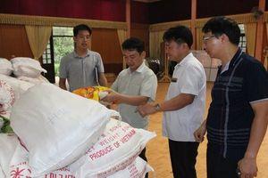 Chương Mỹ: Gần 90 tấn gạo hỗ trợ đã đến tay người dân
