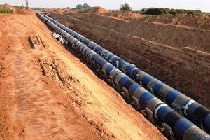 Hai lần nhấn chìm đường ống không thành: Tiến độ nhà máy nước mặt sông Đuống gặp khó