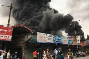 Khởi tố hình sự vụ cháy chợ Sóc Sơn