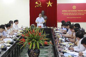 Bí thư Thành ủy Hoàng Trung Hải làm việc với Sở VH&TT Hà Nội: Đồng bộ, sáng tạo để phát huy các giá trị văn hóa của Thủ đô
