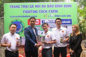 Người Thái Lan chia sẻ cách chăm sóc gà