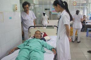 Gắp thành công bánh xe bật lửa ga trong phổi một bệnh nhân