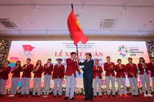 Lễ xuất quân Đoàn thể thao Việt Nam dự ASIAD 2018: Háo hức lên đường làm nhiệm vụ