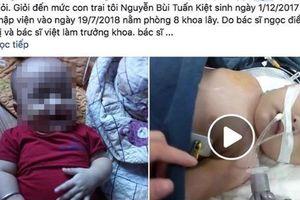Nghệ An: Bé 7 tháng tuổi tử vong sau nhiều ngày nằm viện mà không ra bệnh