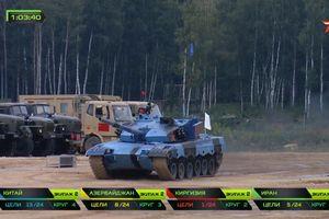 Bán kết Tank Biathlon 2018: Xe tăng gặp sự cố 'lăn đùng ra chết', đội Trung Quốc vẫn về nhất