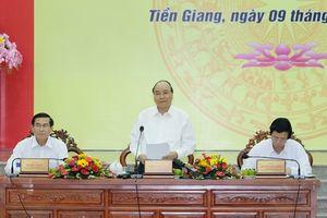 Thủ tướng: Tiền Giang cần xử lý kịp thời các điểm nghẽn, nâng cao chất lượng tăng trưởng