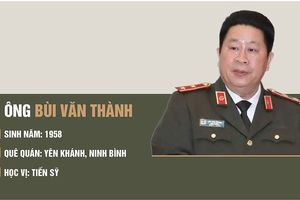 Thứ trưởng Bộ Công an Bùi Văn Thành bị cách chức