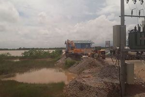 Hàng nghìn hộ dân ở Thái Bình phải dùng nước sinh hoạt 'trộn' nước thải của trạm trộn bê tông?