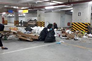 Cám cảnh chung cư sống chung với mùi rác, báo cháy không cần chạy