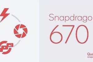 Qualcomm giới thiệu vi xử lí tầm trung Snapdragon 670