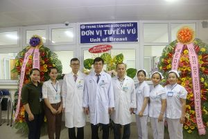 Bệnh viện Chợ Rẫy lập 'Đơn vị tuyến vú'