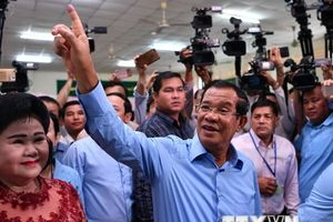 Thái Lan chúc mừng Thủ tướng Campuchia về cuộc bầu cử thành công