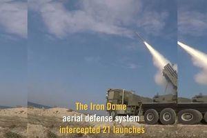 Clip: Người dân Israel tháo chạy khi 'mưa tên lửa' bắn từ dải Gaza